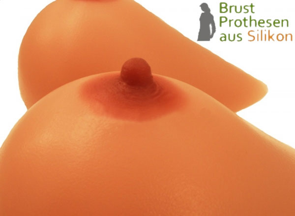 silicone breasts made in Germany of skin-friendly 100% pure silicone