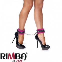 Pink ancle cuffs with carabine hooks - Ri-7967