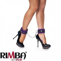 Purple ancle cuffs with carabine hooks - Ri-7947
