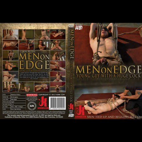 Men on Edge 6 - 19 year old with a huge cock - KINK-MOE-006