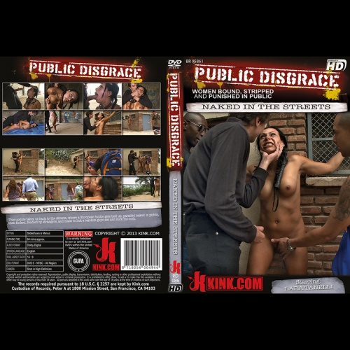 Public Disgrace 86 - Naked in the Streets - KINK-PD-086