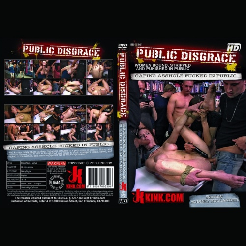 Publice Disgrace 75 - Gaping Asshole Fucked in Public - KINK-PD-075