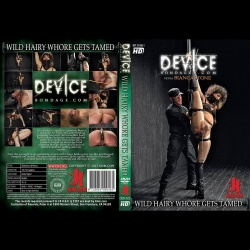 Device Bondage 25 - Wild hairy whore gets tamed - KINK-DEB-025