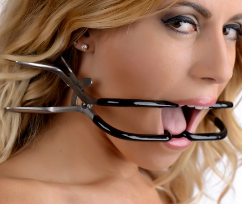 Rubber Coated Stainless Steel Jennings Gag - xr-ad399