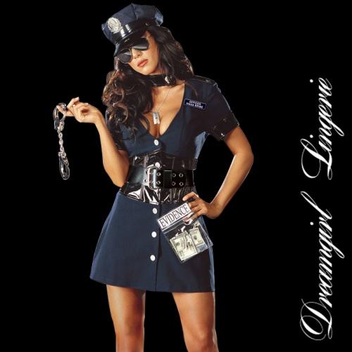 Corrupt Cop Kleid von Dreamgirl - dg-4005
