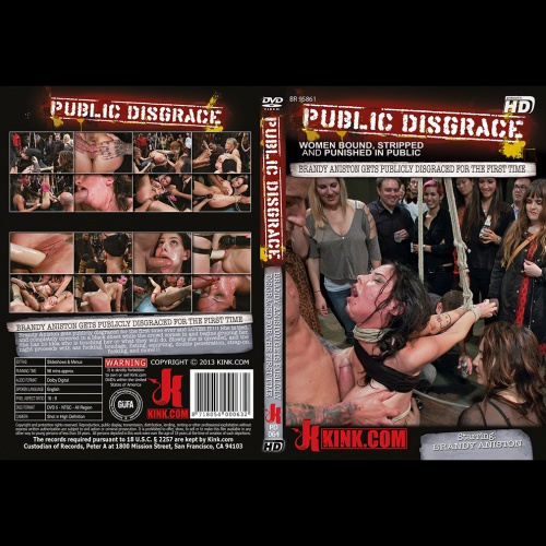 Public Disgrace 64 - Brandy Aniston gets publicly disgraced for the first time - KINK-PD-064