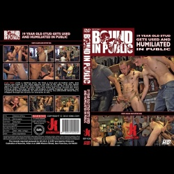 Bound in Public 36 - 19 year old stud with a giant cock gets used and humiliated in public - KINK-BIP-036