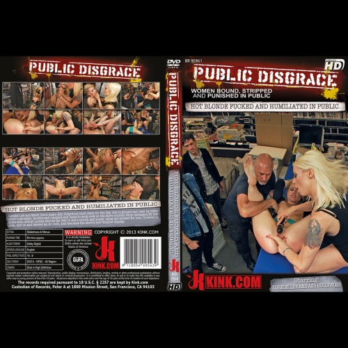 Public Disgrace 94 - Hot Blonde Fucked and Humiliated in Public - KINK-PD-094