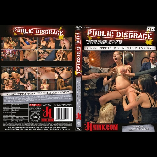 Public Disgrace 97 - Giant tits tied in the armony - KINK-PD-097