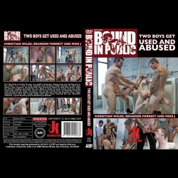 Bound in Public 38 - Two boys get used and abused in a public restroom - KINK-BIP-038