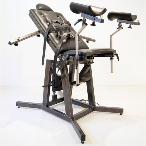 Elektrisch verstelbare Stalen Gynaecologenstoel - dgs-1gyn7