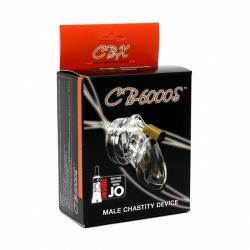 CB-6000S Chastity Cage - Transparant - ri-7501