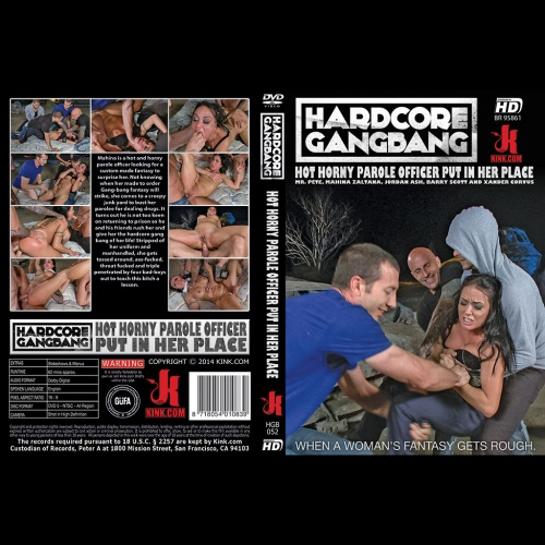 Hardcore Gangbang 52 - Parole officer gang banged by her parolee and his friends - KINK-HGB-052