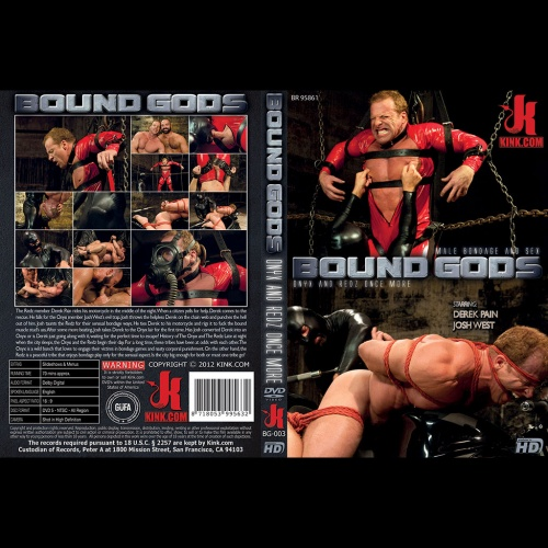 Bound Gods 3 - Onyx and Redz once more - KINK-BG-003