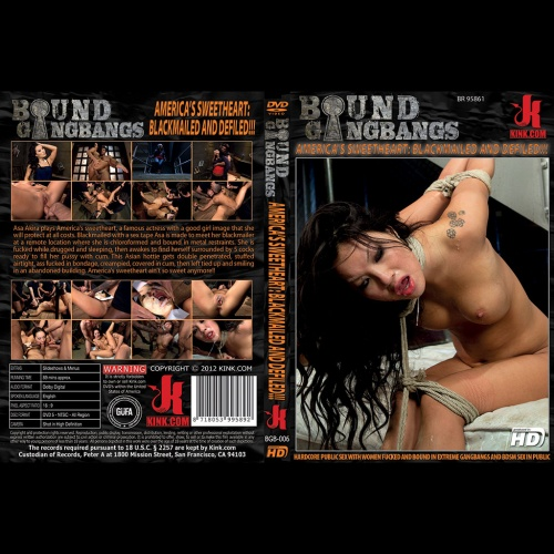 Bound Gangbangs 6 - America's Sweetheart: Blackmailed and Defiled - KINK-BGB-006