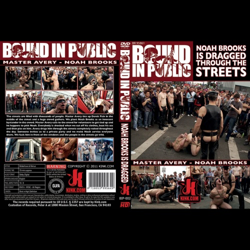 Bound in Public 2 - Noah Brooks is dragged through the streets - KINK-BIP-002