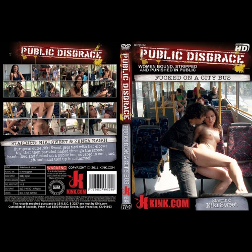Public Disgrace 6 - Fucked on a city bus - KINK-PD-006