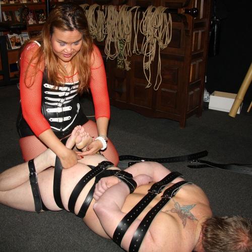 5-piece Leather bondage Restraints set - Os-0337-12345