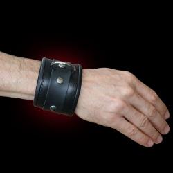 Lockable Wrist Cuffs - os-fessel-half-leder