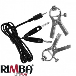 Luxurous electro clamps uni-polar (2 pcs) - RI-7861