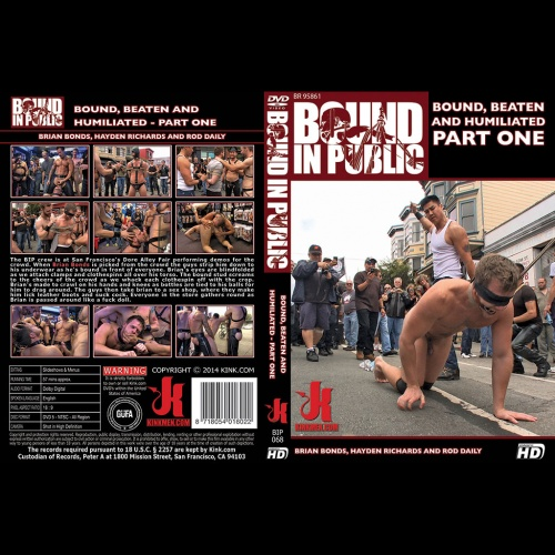 Bound in Public 68 - Bound, Beaten and humiliated - Part one - KINK-BIP-068