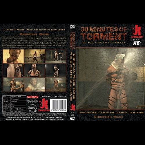 30 Minutes of Torment 5 - Christian Wilde Takes the Ultimate Challenge - KINK-TMT-005