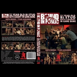 Bound in Public 16 - 22 Year Old Bi Stud Gets Caught in Gangbang - KINK-BIP-016