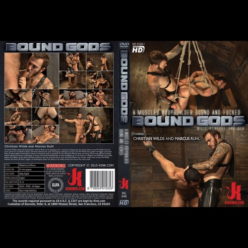 Bound Gods 49 - A Muscled Bodybuilder Bound and Fucked - KINK-BG-049