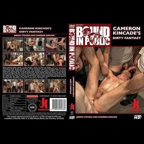 Bound in Public 71 - Cameron Kincade's Dirty Fantasy - KINK-BIP-071