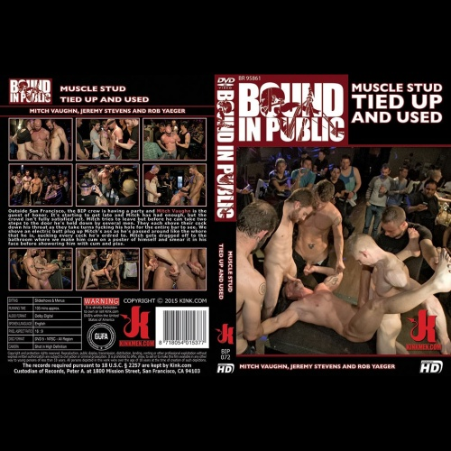 Bound in Public 72 - Muscle Stud Tied up and Used - KINK-BIP-072