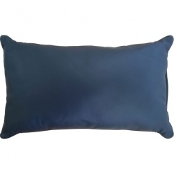 Black leather cushion - os-rcn1089