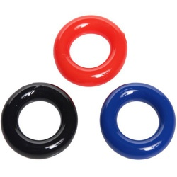 Stretchy Cock Ring 3 Pack - xr-ae181