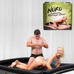Nuru opblaasbaar Vinyl Massage Laken - XR-AE274