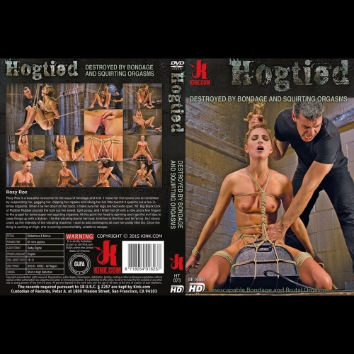 Hogtied 73 - Destroyed by Bondage and Squirting Orgasms - KINK-HT-073