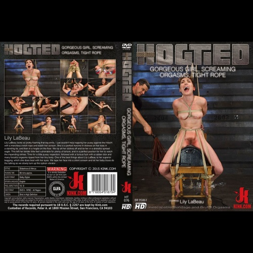 Hogtied 76 - Gorgeous Girl, Screaming Orgasms, Tight Rope - KINK-HT-076
