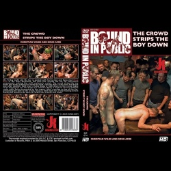 Bound in Public 74 - The Crowd Strips the Boy Down - KINK-BIP-074