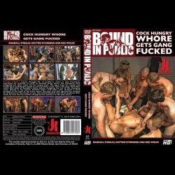 Bound in Public 75 - Cock Hungry Whore Gets Gang Fucked - KINK-BIP-075
