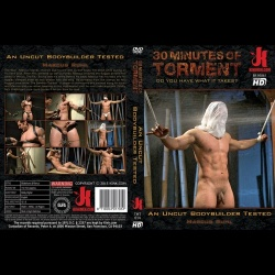 30 Minutes of Torment 14 - An Uncut Bodybuilder Tested - KINK-TMT-014
