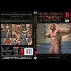 30 Minutes of Torment 15 - Straight Hunk Pushes His Limits to the Max - KINK-TMT-015