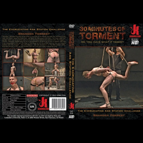 30 Minutes of Torment 16 - The Excruciating Ass Station Challenge - KINK-TMT-016