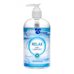 Clean Stream Relax Desensitizing Anal Lube, 17 oz. - xr-ac696