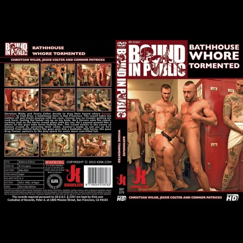 Bound in Public 79 - Bathhouse Whore Tormented - KINK-BIP-079