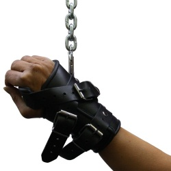Heavy duty Leather hand & wrist restraints  - os-0110s