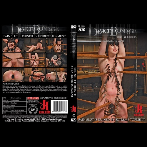 Device Bondage 81 - Pain Slut is Ruined by Extreme Torment - KINK-DEB-081