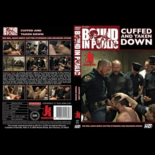 Bound in Public 81 - Cuffed and Taken Down - KINK-BIP-081