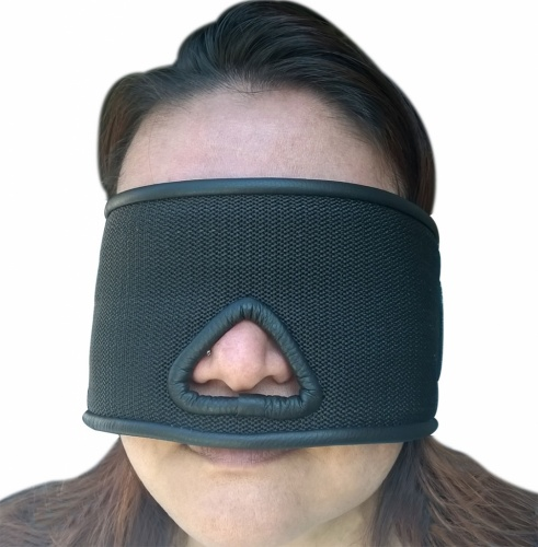 Blindfold with Velcro closure - OS-BLVO