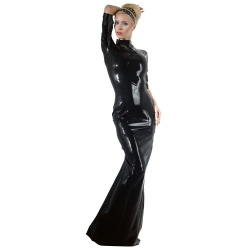 Latex Dress sizes S > XXL - or-2900092