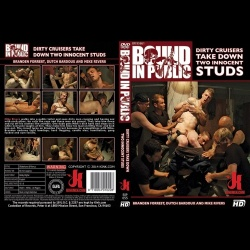 Bound in Public 55 - Dirty Cruisers Take Down Two Innocent Studs - KINK-BIP-055