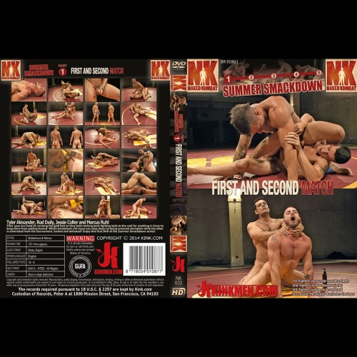 Naked Kombat 32 - Summer Smackdown - First and Second Match - KINK-NK-032