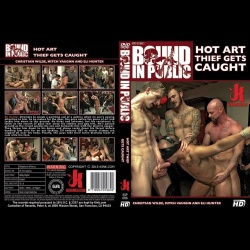 Bound in Public 86 - Hot Art Thief Gets Caught - KINK-BIP-086